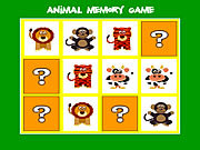 Animal memory game online játék