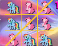 My Little Pony tic-tac-toe játék