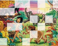 Sort my tiles jungle book l�v�ld�z�s j�t�kok