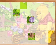 Sort My Tiles Pooh and Piglet online j�t�k
